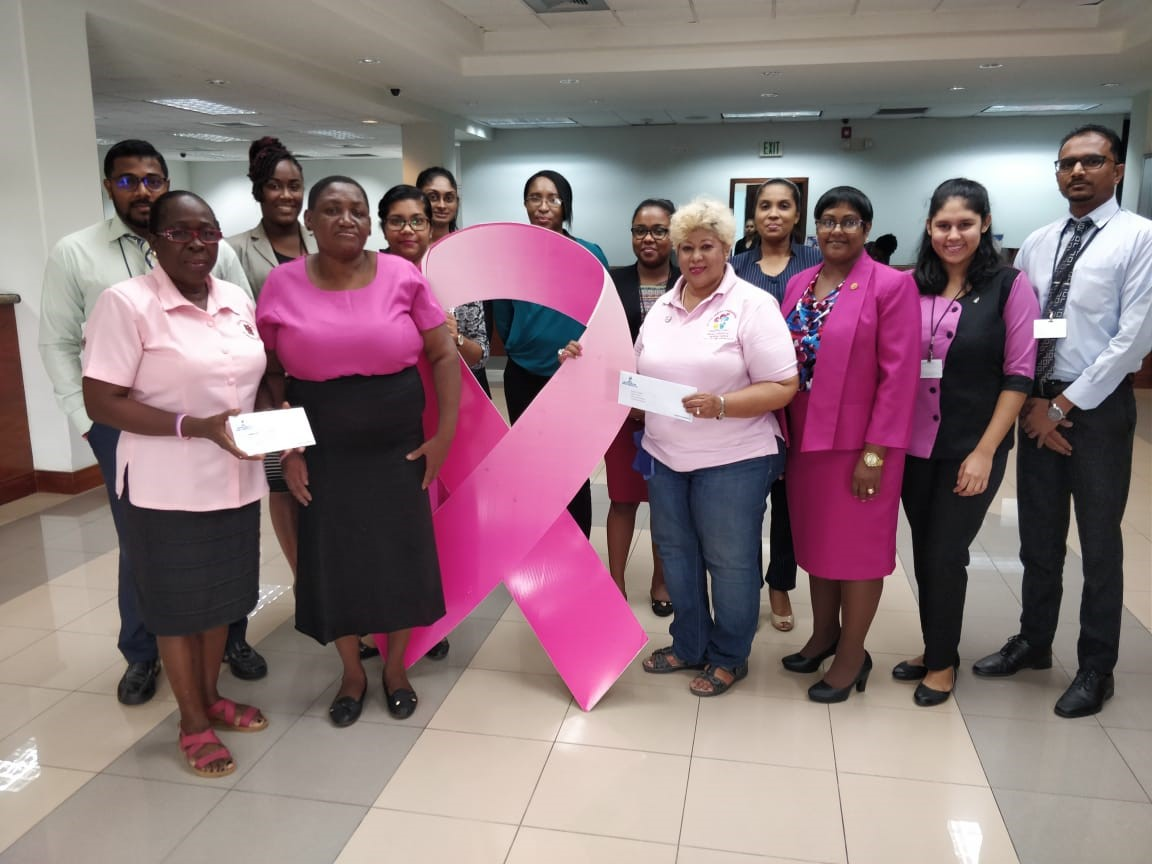 Periwinkle, Guyana Cancer Foundation benefit from GBTI support