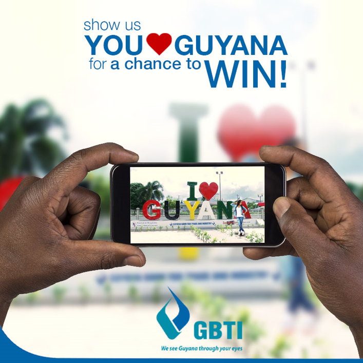 GBTI hosting 50 REASONS TO LOVE GUYANA SOCIAL MEDIA CONTEST – In observance of 50th Republic Anniversary